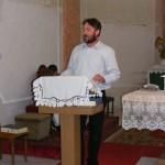 Csiszér László tanúságtétele a bókai záró szentmisén